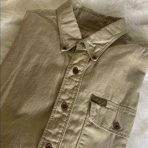 Woolrich Vintage MENS Button down XL